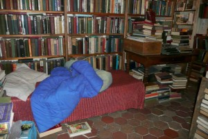 Writer's book bed